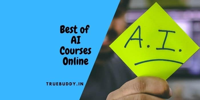 Best of Artificial Intelligence Course Online