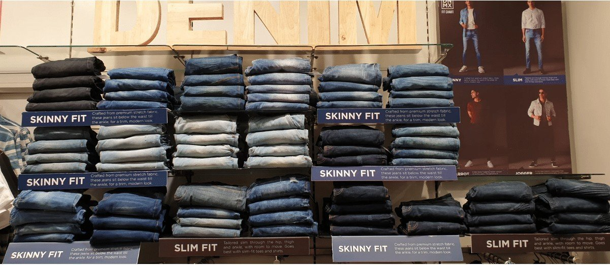 buying jeans