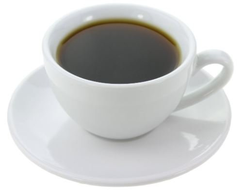 Black Coffee - Increases metabolism and to help weight loss