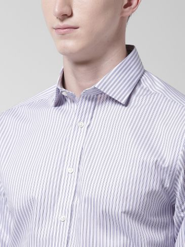 Striped Semi-formal Shirt by Marks & Spencer