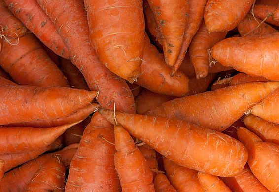 Carrots- Perfect for reducing tummy fat