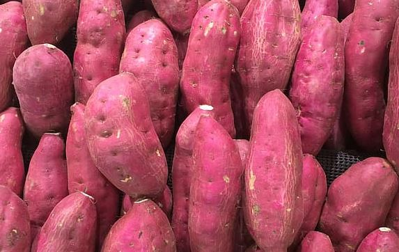 Sweet potato- Dietary fiber helps weigh-loss and reduce obesity