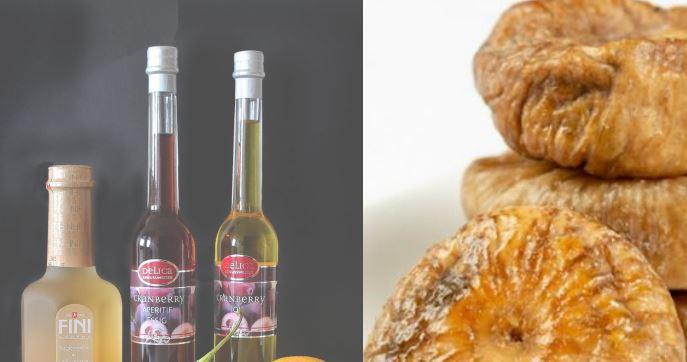 vinegar and figs - Reduces calorie consumption