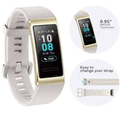 Huawei-low budget fitness tracker band