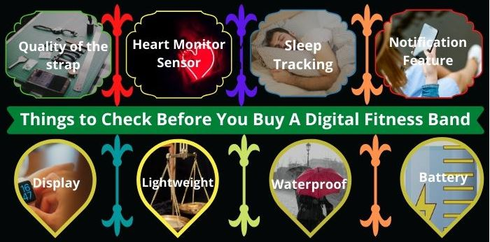 Things to Check before Buying a Digital Fitness Band
