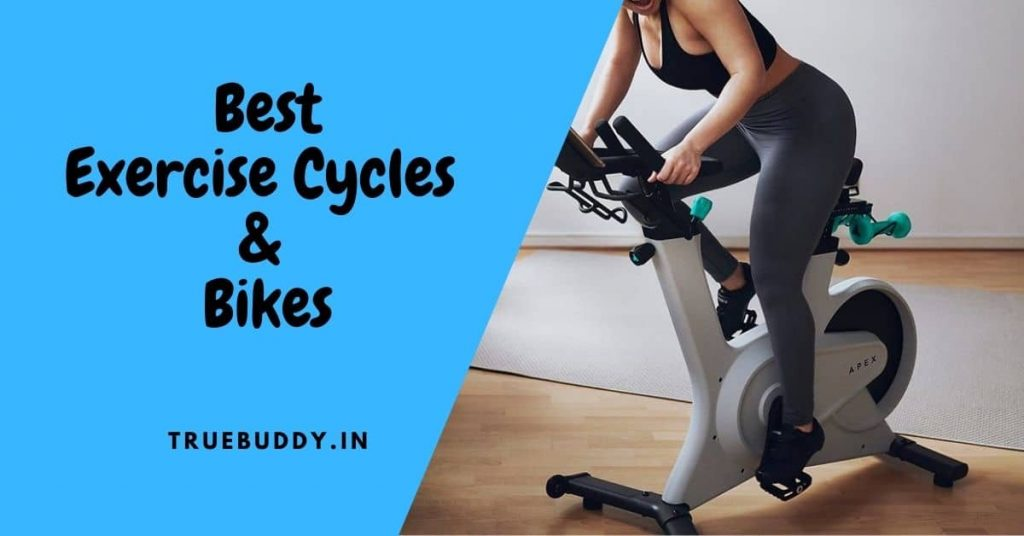 Home exercise cycle